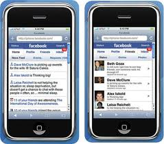 Facebook APPs For Iphone