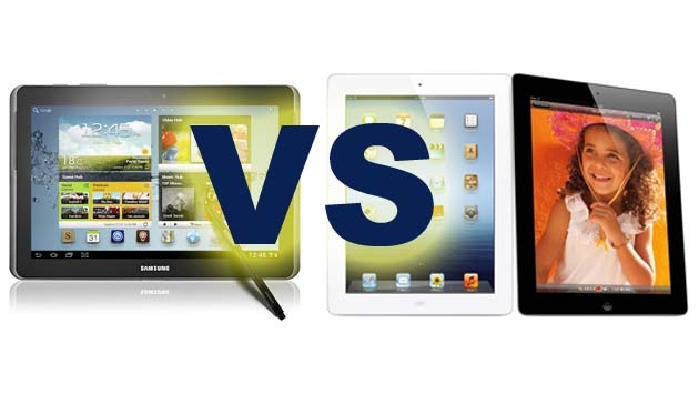 Samsung Galaxy Note 10.1 VS Apple iPad3