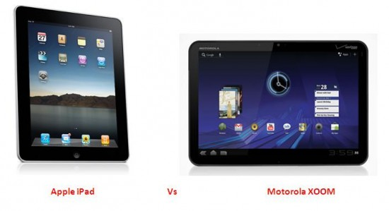 Apple iPad3 VS Motorola Xoom2