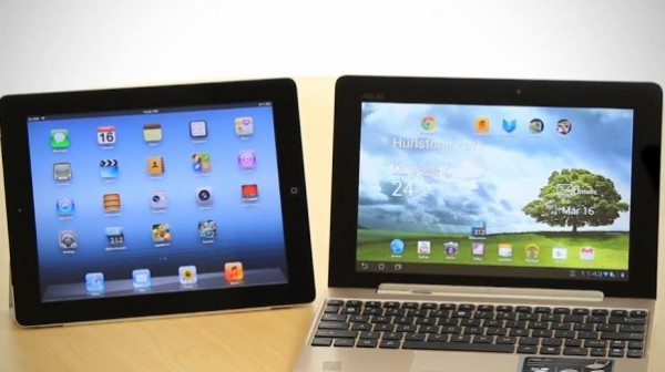 iPad 3 VS Asus Transformer Pad Infinity 700