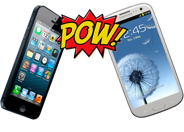iPhone5compare to Samsung Galazy SIII
