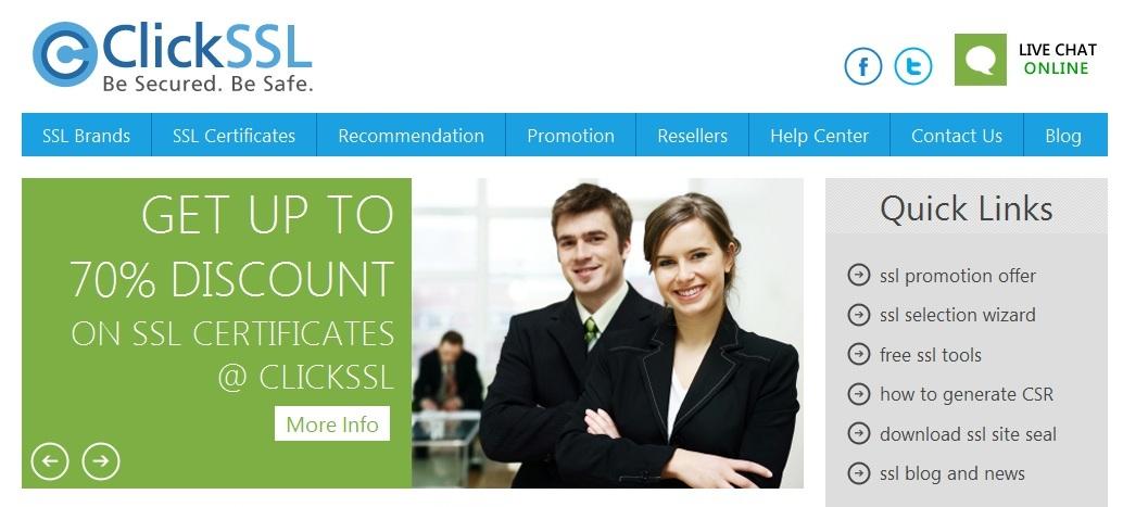 Best Ssl Certificate Provider Clickssl