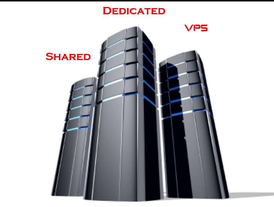 shared vs dedicated vs vps