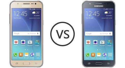 Samsung Galaxy J5 Prime VS J7