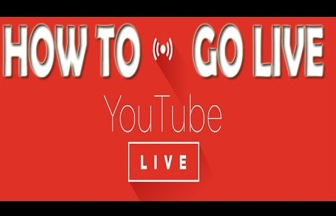 Live on Youtube app