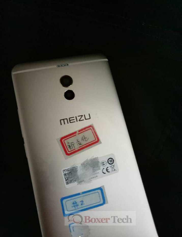 Meizu m6 Note rear panel leaked again, confirms dual camera setup with quad LED